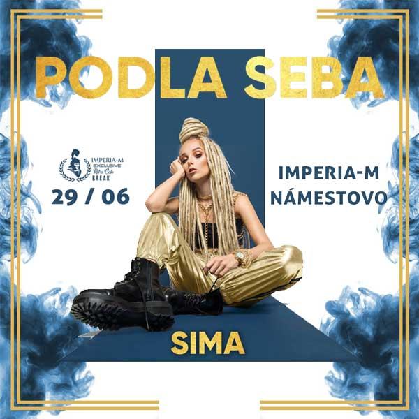 SIMA Podla Seba Live koncert