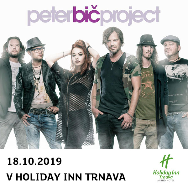 Peter Bič Project koncert v Holiday Inn Trnava