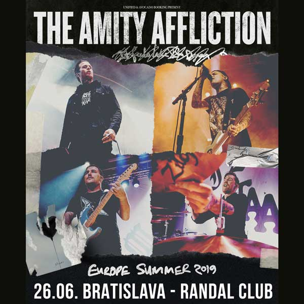 THE AMITY AFFLICTION (AUS) + CANE HILL (USA)