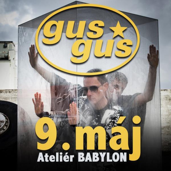 GusGus live in Bratislava