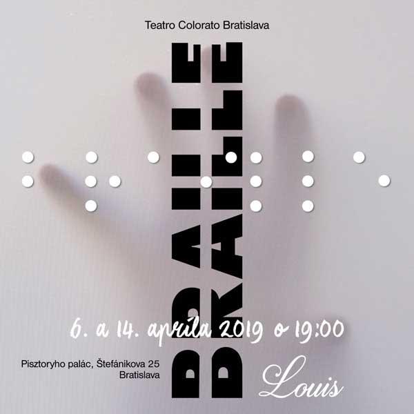 LOUIS BRAILLE - premiéra divadelnej hry