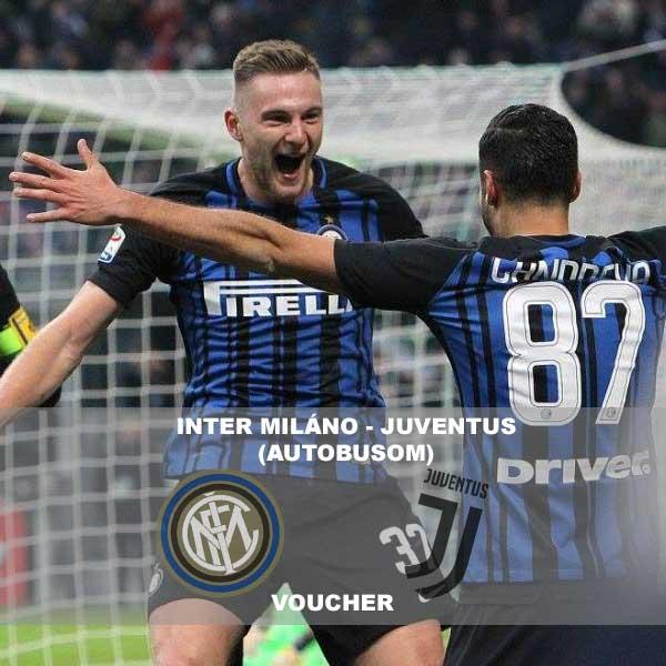 Inter Miláno – Juventus (autobusom)