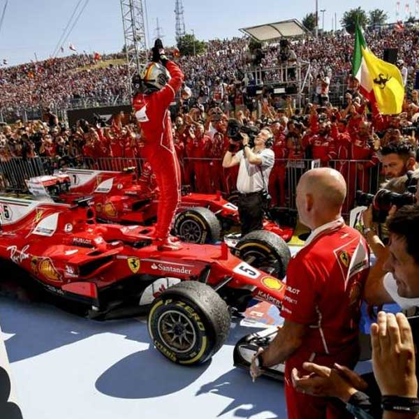 F1: Veľká cena Talianska (letecky)