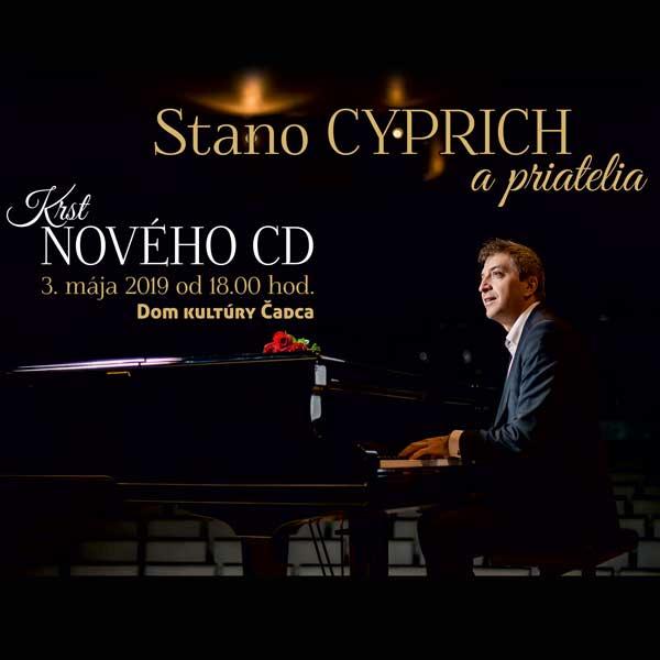 Stano Cyprich a priatelia – krst nového CD