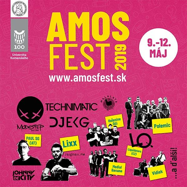 AmosFest 2019 – 100 Univerzity Komenského