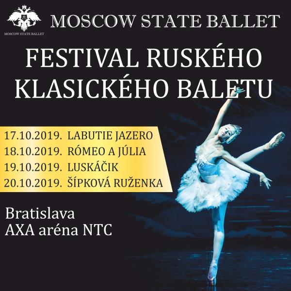 4 svetové baletné predstavenia - PERMANENTKA