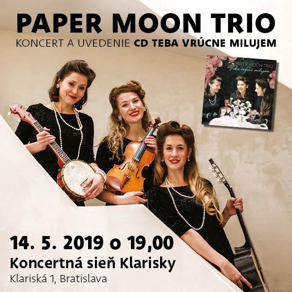 Paper Moon Trio - Teba vrúcne milujem