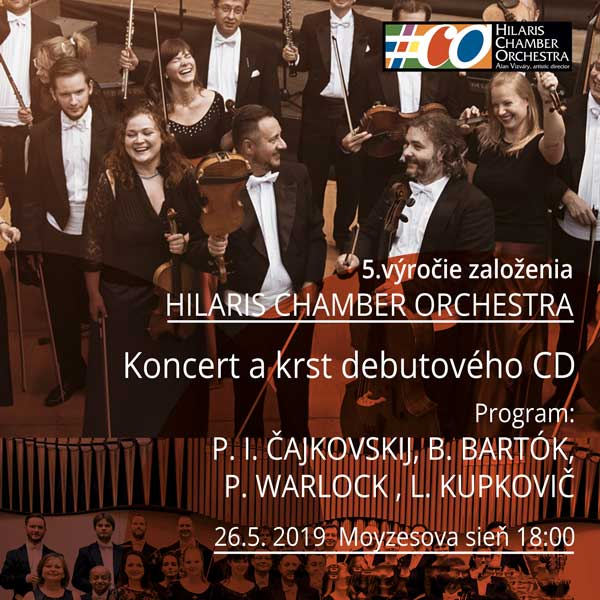 5.výročie Hilaris Chamber Orchestra