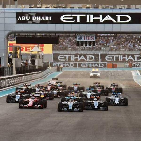 F1: Veľká cena Abu Dhabi (letecky)