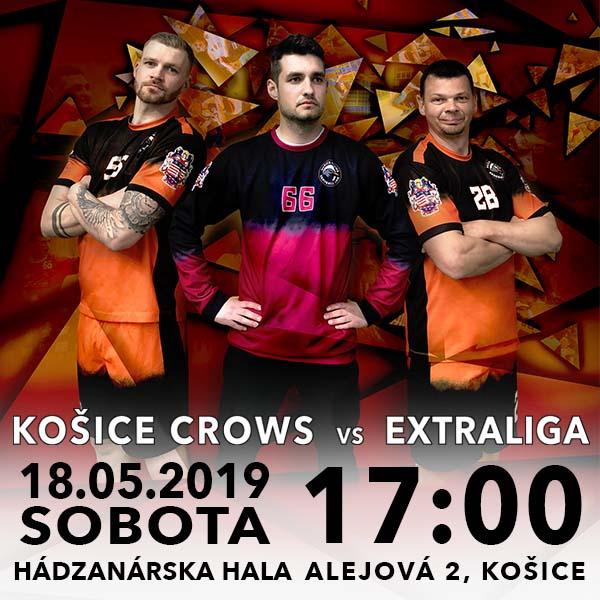 Finalový zápas Košice CROWS