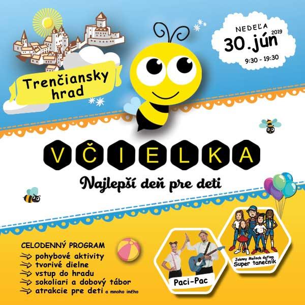 Včielka - najlepší deň pre deti