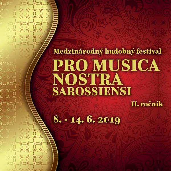 Pro musica nostra Sarossiensi / Prešov