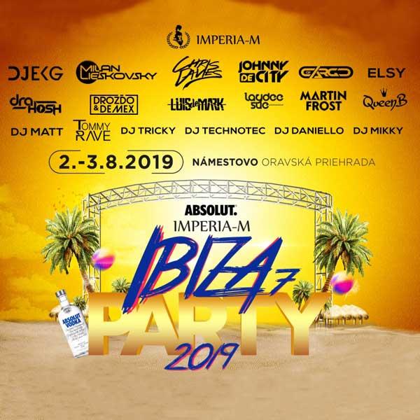 IBIZA PARTY IMPERIA-M 2019