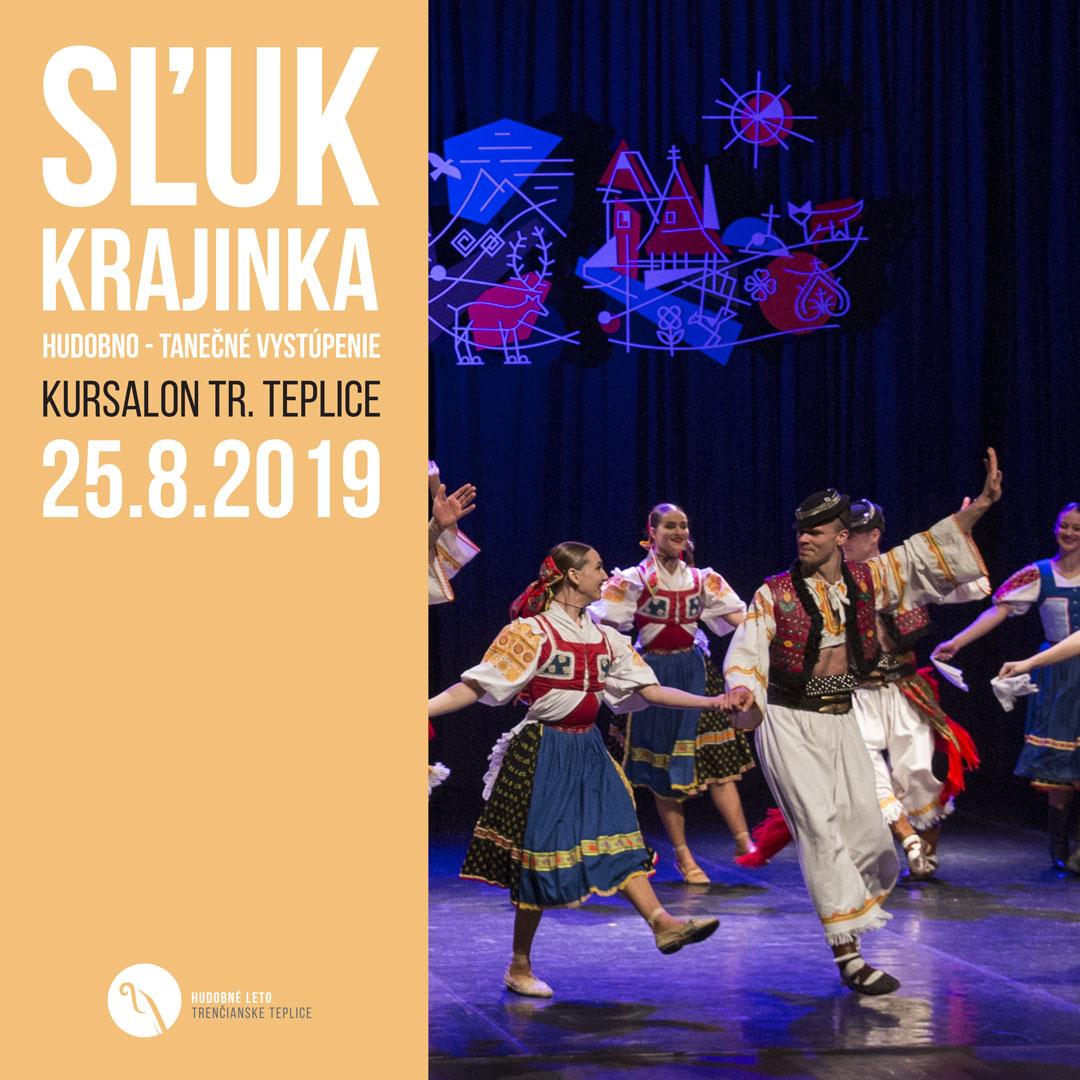 SĽUK Krajinka – Hudobno-tanečné vystúpenie