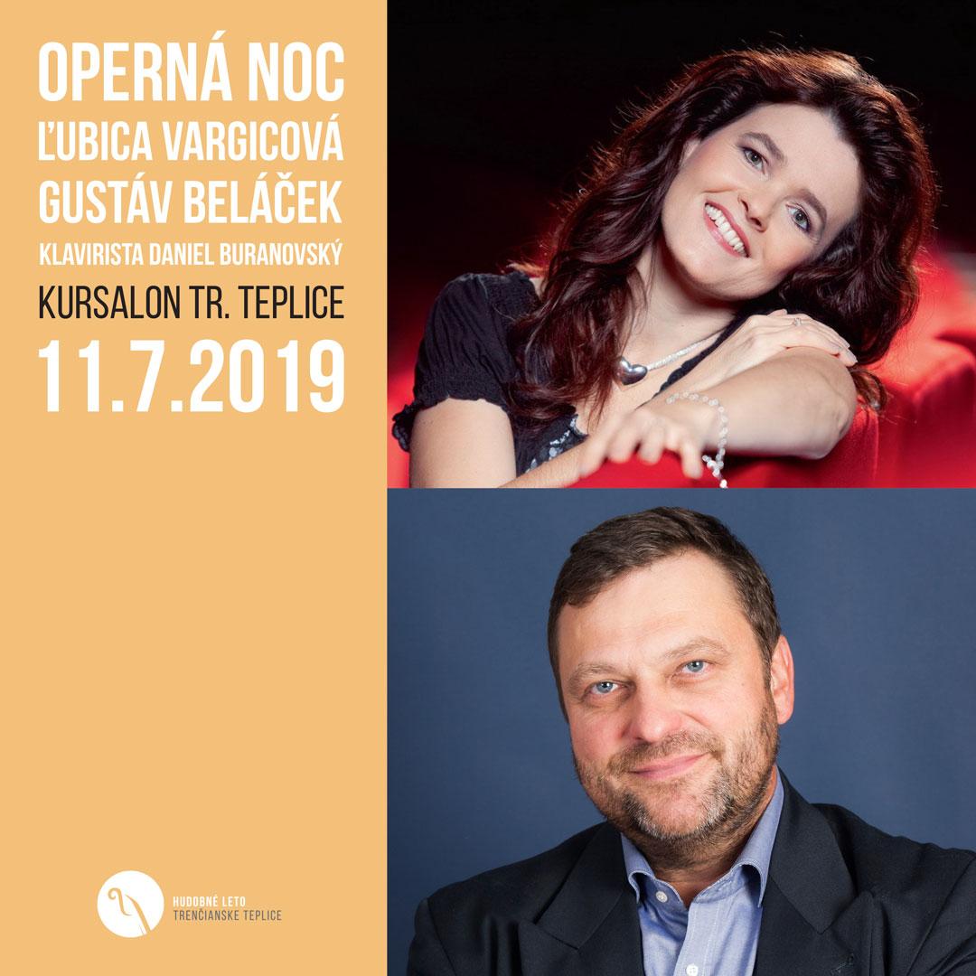 Operná noc – Vargicová, Beláček a Buranovský