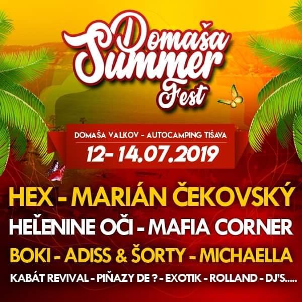 SUMMER DOMAŠA FEST 2019