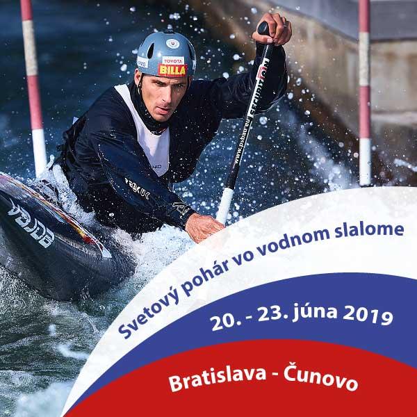 Druhé kolo svetového pohára vo vodnom slalome