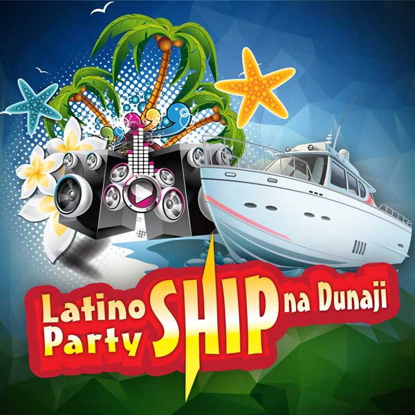 Latino Party Ship na Dunaji