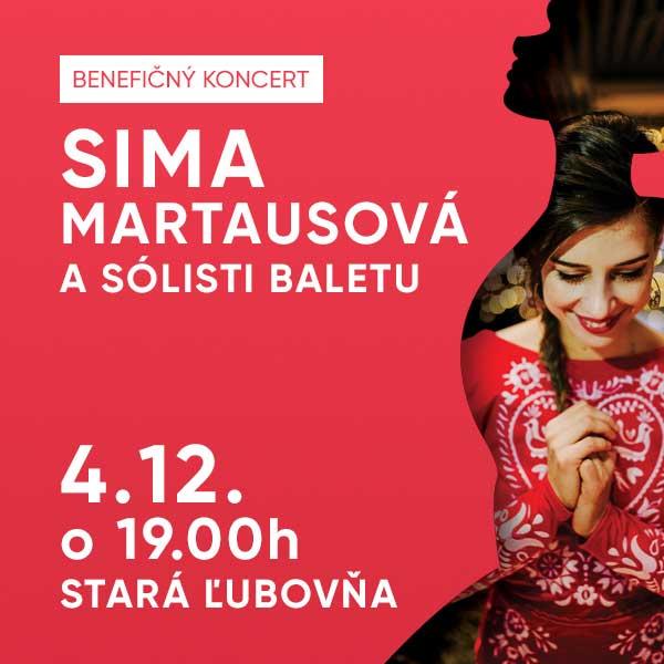 Vianočný Benefičný koncert - Sima Martausová