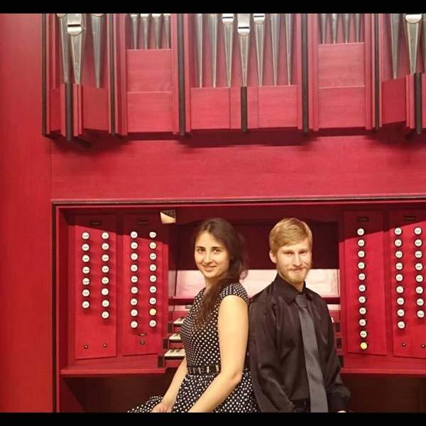 DINA IKHINA & DENIS MAKHANKOV, organové duo / RUS