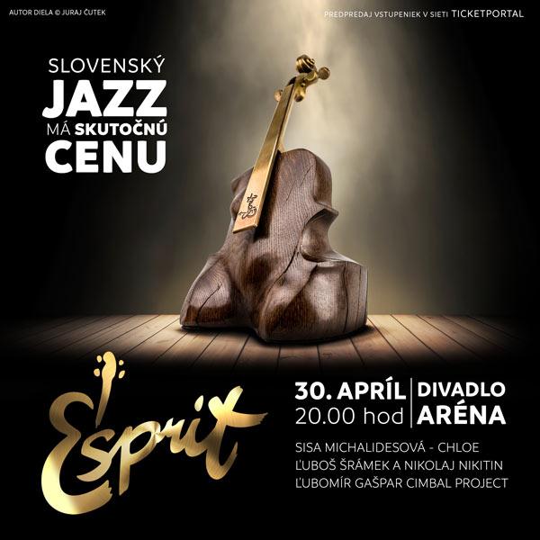 ESPRIT - udeľovanie cien za jazz s koncertom