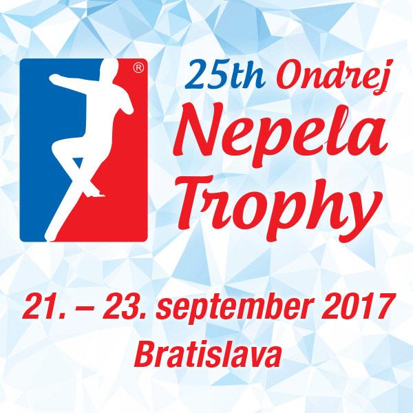 25th Ondrej Nepela Trophy 2017