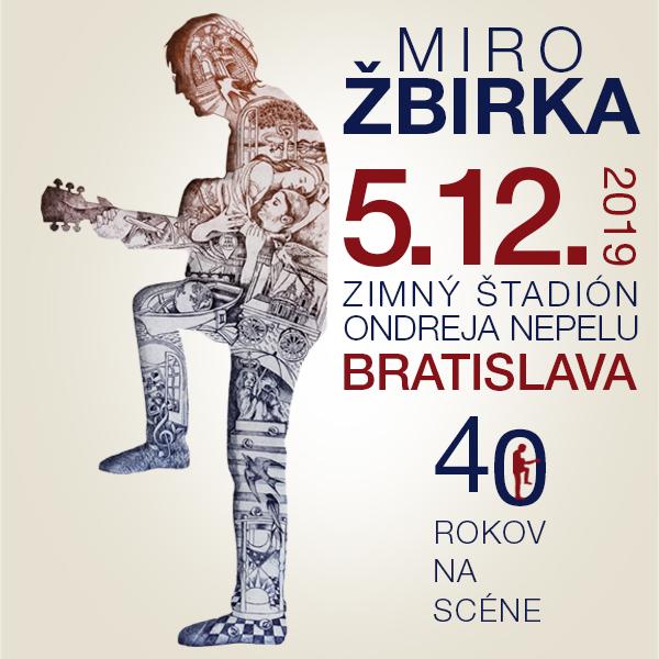 Miro ŽBIRKA – 40 rokov na scéne