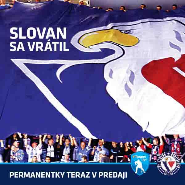 HC Slovan permanentka 2019/2020