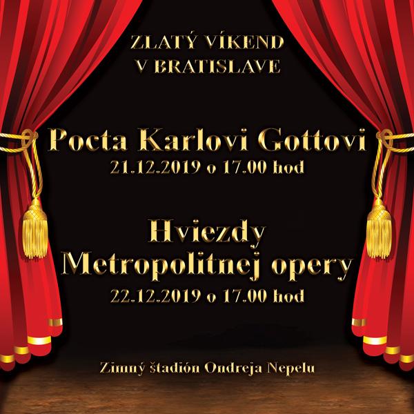 Hviezdy Metropolitnej opery v Bratislave