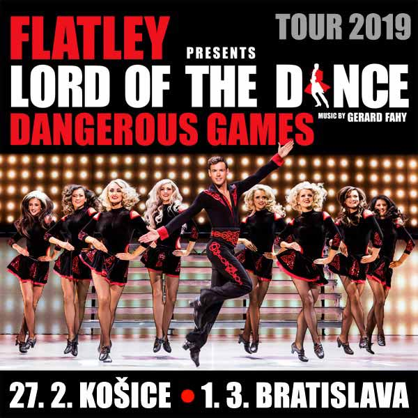 LORD OF THE DANCE DANGEROUS GAMES