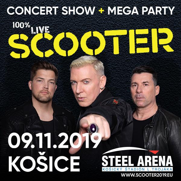 "Scooter ""Live In"" Košice"