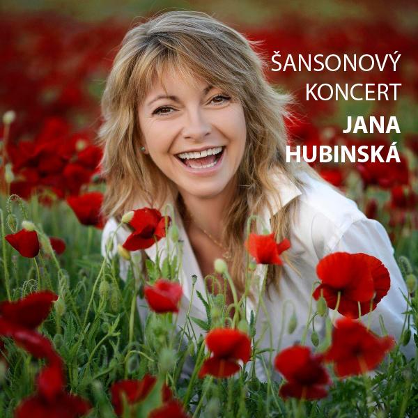 Šansónový koncert-Jana Hubinská