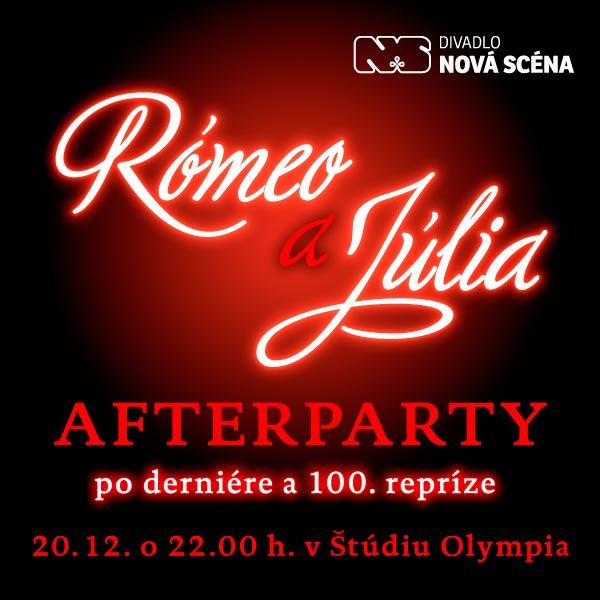 RÓMEO A JÚLIA - AFTERPARTY
