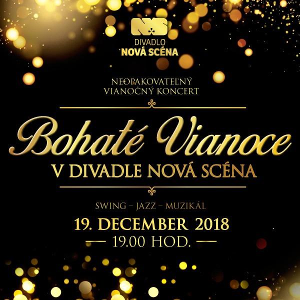 Bohaté Vianoce v Divadle Nová Scéna