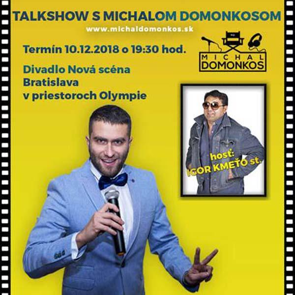 TALKSHOW S M.DOMONKOSOM