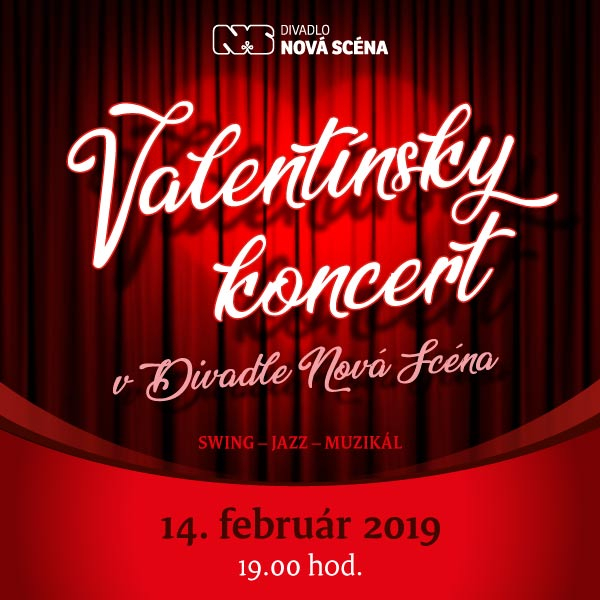 Valentínsky koncert v Divadle Nová scéna