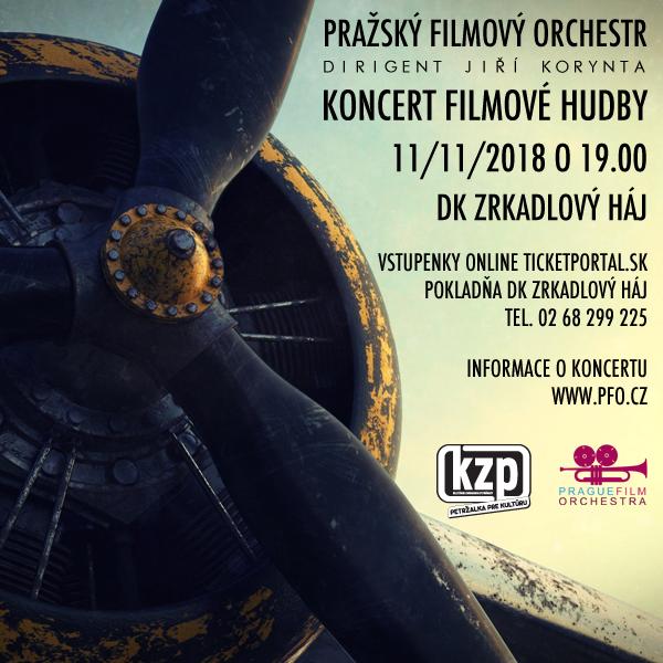 KONCERT FILMOVEJ HUDBY - Pražský filmový orchester