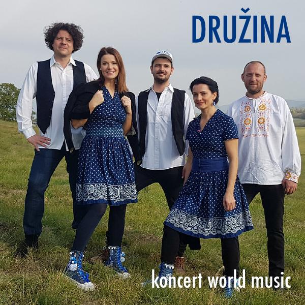 Skupina  DRUŽINA -  NEOFOLKLÓR  tour