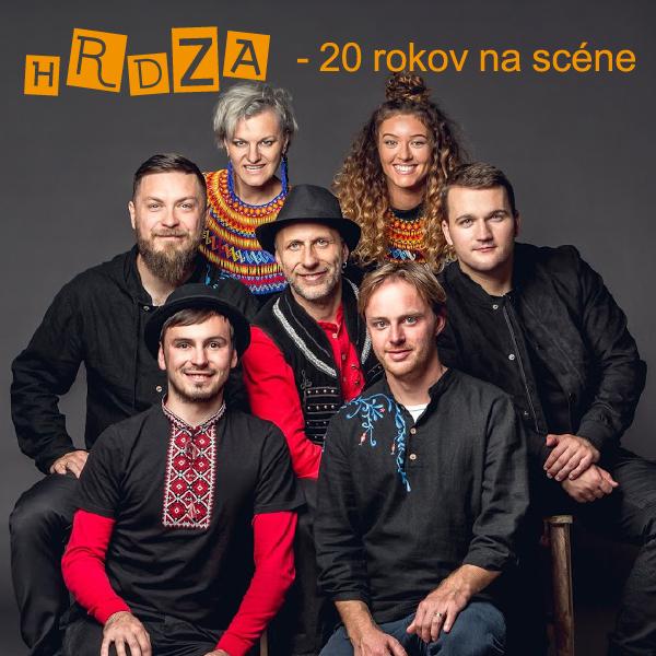 Kapela  HRDZA  -  20  rokov