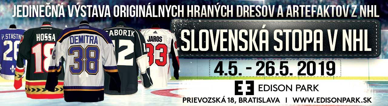 Slovenská stopa v NHL
