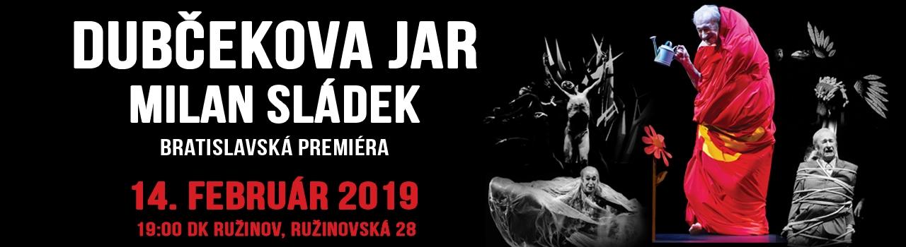 Milan Sládek : Dubčekova jar