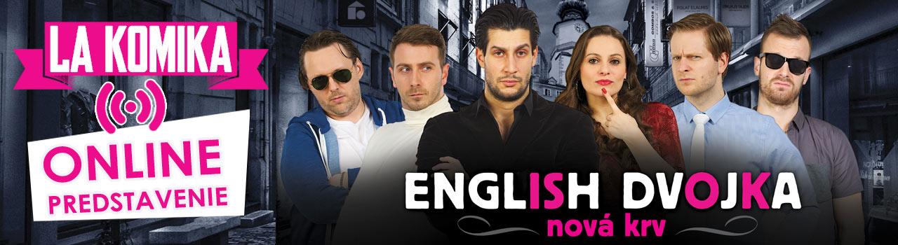 English dvojka - nová krv - On