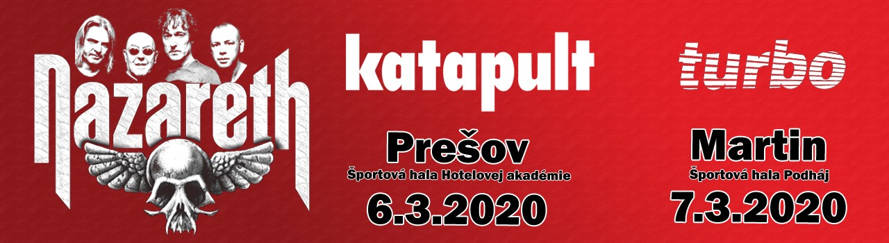 NAZARETH - KATAPULT - TURBO