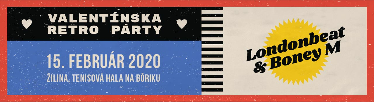 Valentínska Retro Párty