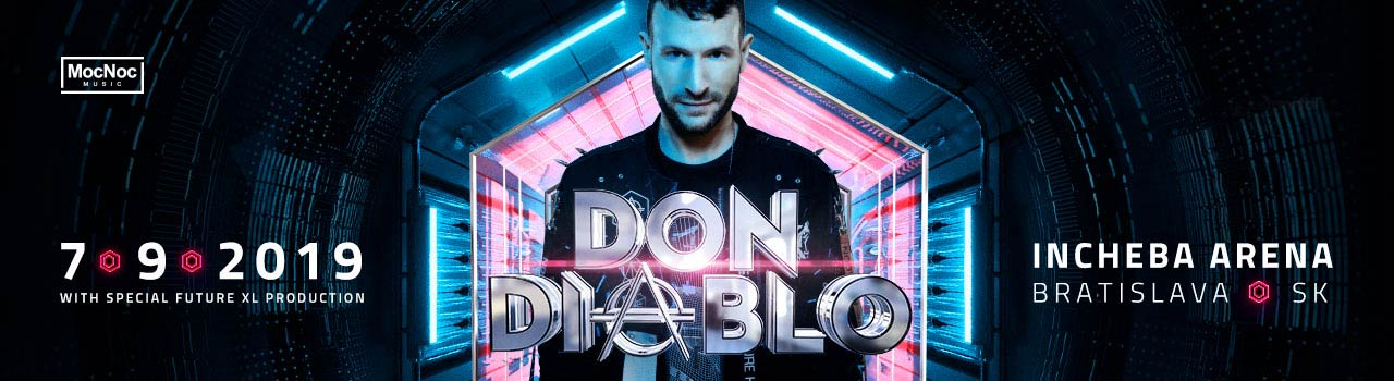 Don Diablo in Bratislava
