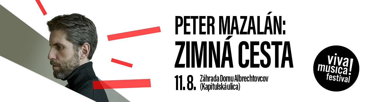 PETER MAZALÁN: ZIMNÁ CESTA