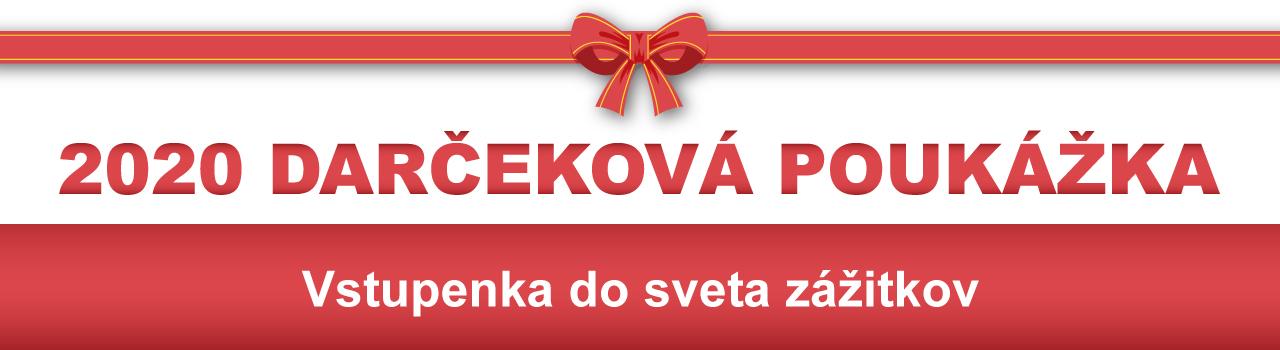 Darčeková poukážka Ticketporta