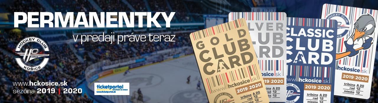 Permanentka HC Košice sezóna 2