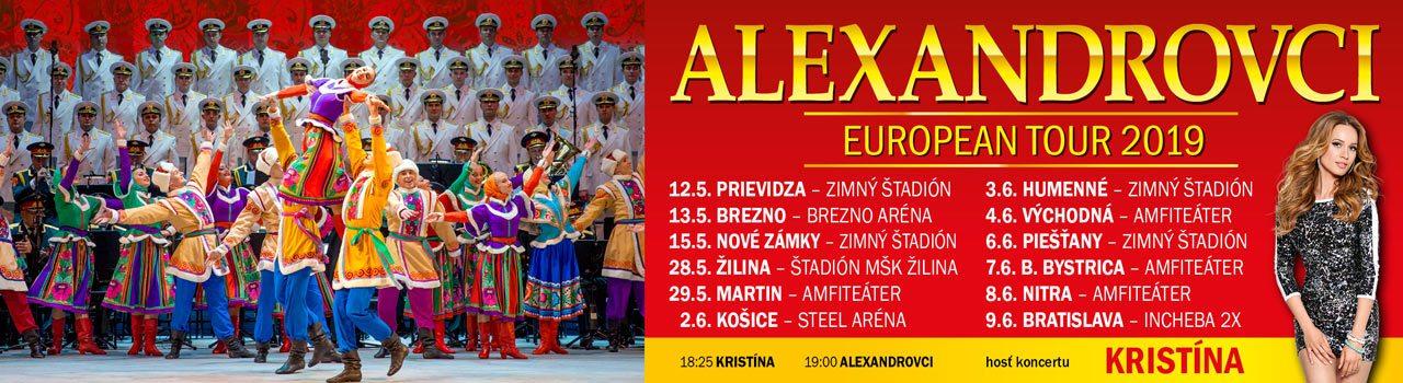 ALEXANDROVCI EUROPEAN T. 2019