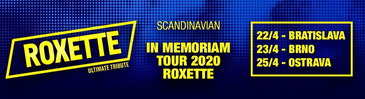 Roxette in Memoriam Tour 2020